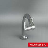 3d model of tap