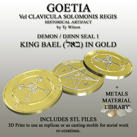 3d seals goetia model
