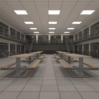 max interior prison block