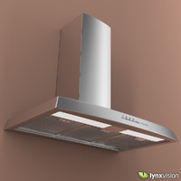 3ds max stainless steel wall hood