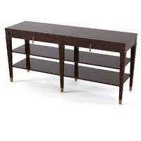 3d lexington rochelle console model