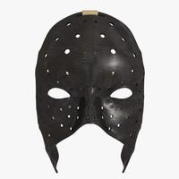 3d model of mask