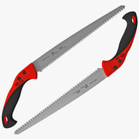 pruning saw 3d model