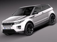 Range Rover Evoque Black Design 2013