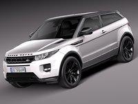 2013 range black 3d model