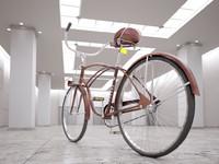 old bike c4d