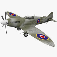 Supermarine Spitfire British Fighter Aircraft