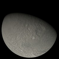 3d model photorealistic tethys