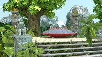 complete scene cartoon jungle 3d max