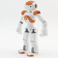 robot nao 3d obj