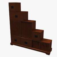 grundel step chest 3d 3ds
