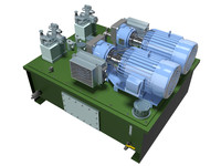 3dsmax pump pressure unit