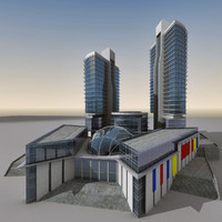 Modern Building 071