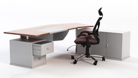 3ds max office desk chair