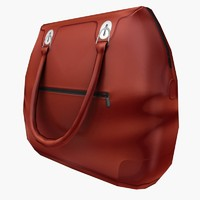 3d hand bag model
