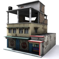 local indian house 3d max