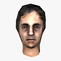 maya male head