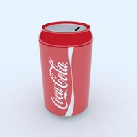 cola money box 3d model