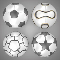 Soccer Balls Collection 01