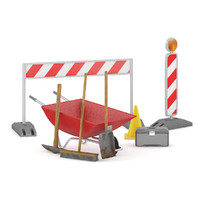 3d model road construction equipment