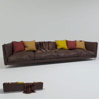 free max mode leather sofa