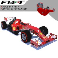 3d realistic 2014 f1 updated model