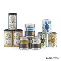 Baking mix cans