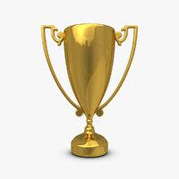 trophy cup 11 3d max