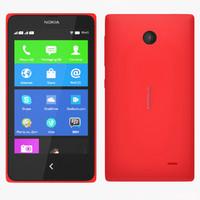 Nokia X+ & X - Red