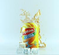 3d ice tea model
