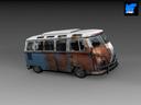 Vanagon 3D models