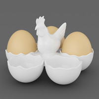 Chicken Five Egg Holder