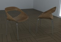 3d chair geoffrey h model