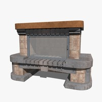 3ds fireplace