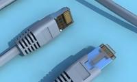 utp rj45 cables 3d obj