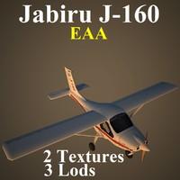 jabiru eaa 3d max