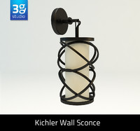 kitchler wall sconce 3d model