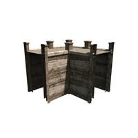 3d model modular wall
