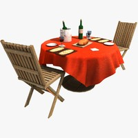 max restaurant table chairs