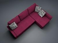 corner sofa ikea 3d model