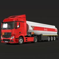 Mercedes Actros Tanker Truck