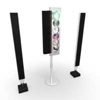 beosound 9000 player beolab 3d model