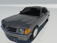 Mercedes Benz 560 Sec W126