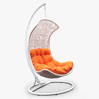 3d model endow lounge swing chair