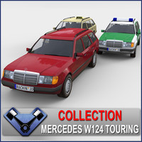 Mercedes W124 Touring Pack