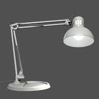 desktop lamp lighting 3d model