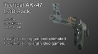3d pack lods model