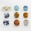 solar system 3D models