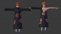 3d animation naruto model