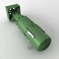 3d atomic bomb model